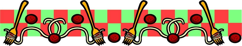 Spaghetti feed clipart