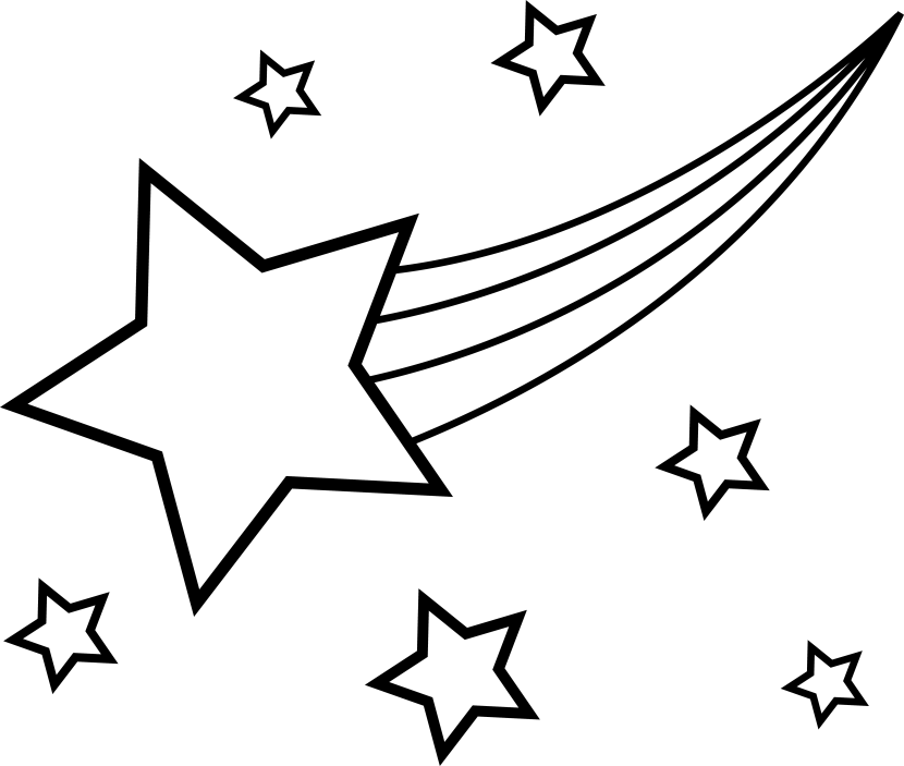 Star  black and white image of star clipart black and white clip art