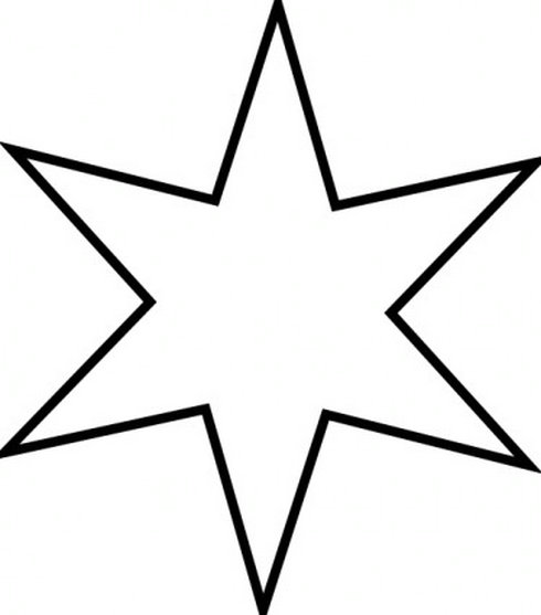 Star  black and white parrot clipart black and white free images