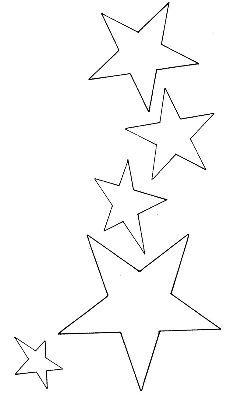 Star Black And White Shooting Star Clipart Black And White