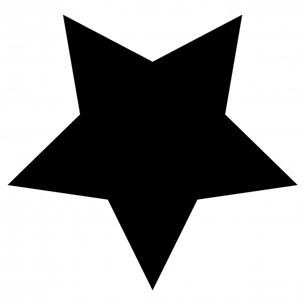 Star  black and white star clip art black and white pics about space