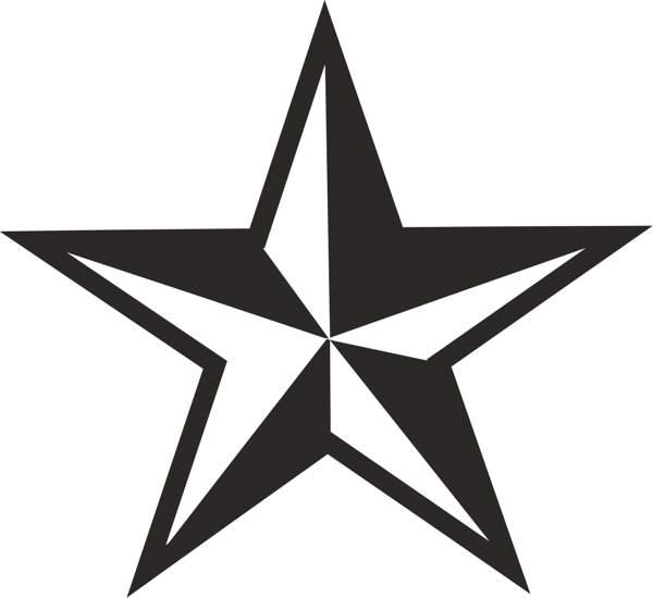 Star  black and white star clip art black white free clipart images