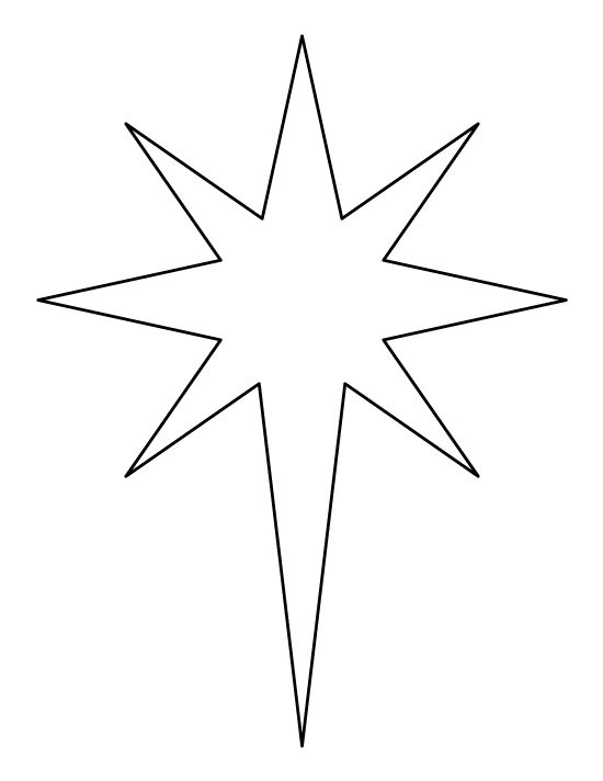 Star outline images 0 ideas about star template on applique patterns clip art