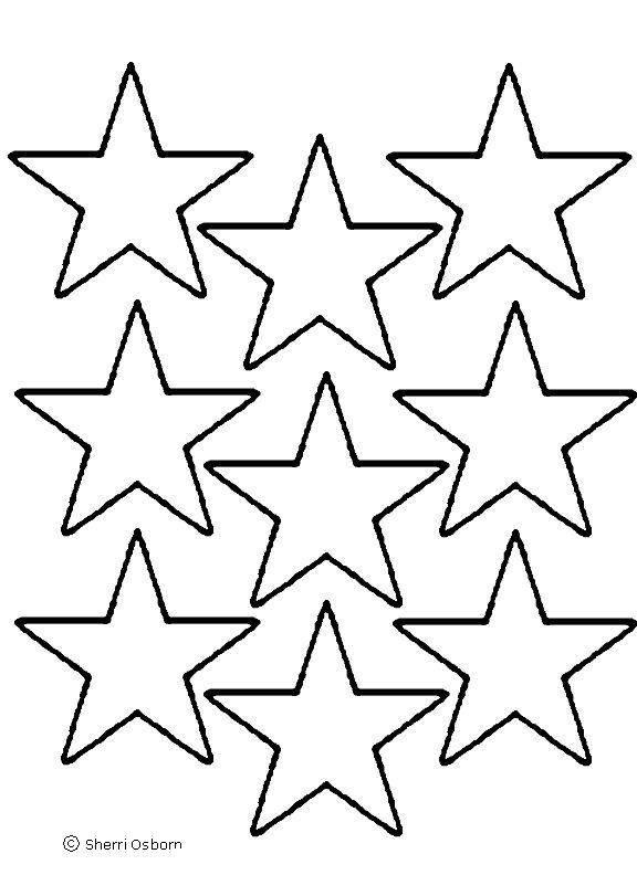 Star outline images star outline printable clip art 2