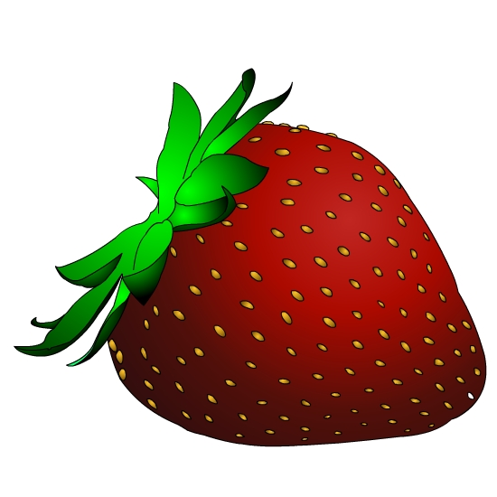 Strawberry clip art border free clipart images