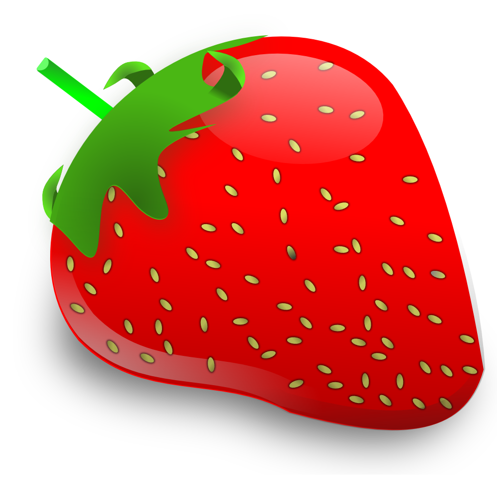 Strawberry clipart 3