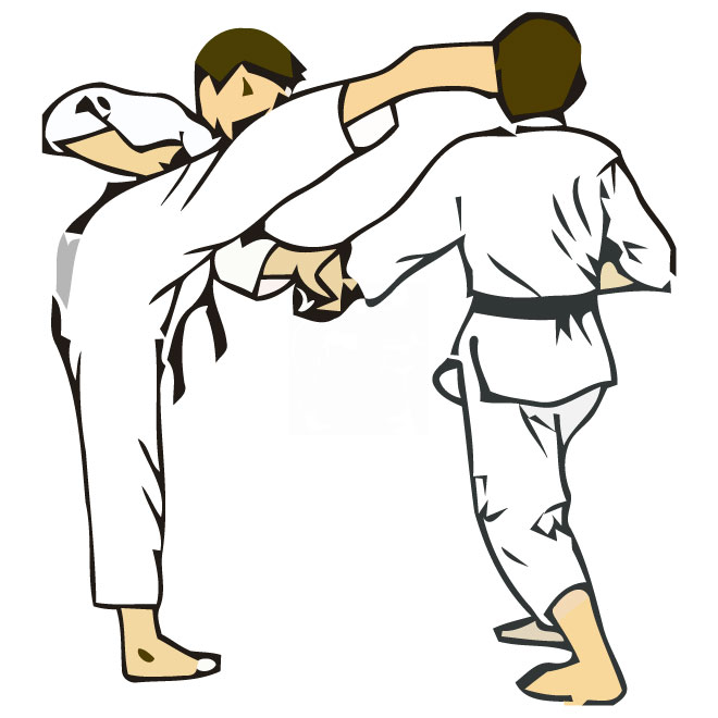 Testing free sports karate clipart clip art pictures graphics image