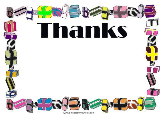 Thank you  free christmas thank you clip art 2