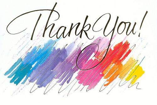 Thank you  free free thank you clipart images 2