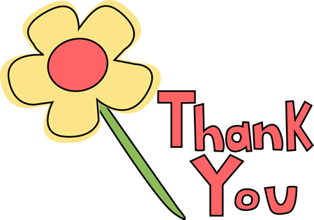Thank you  free free thank you clipart images