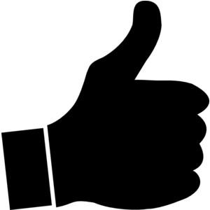 Thumbs up thumb clip art clipart 3