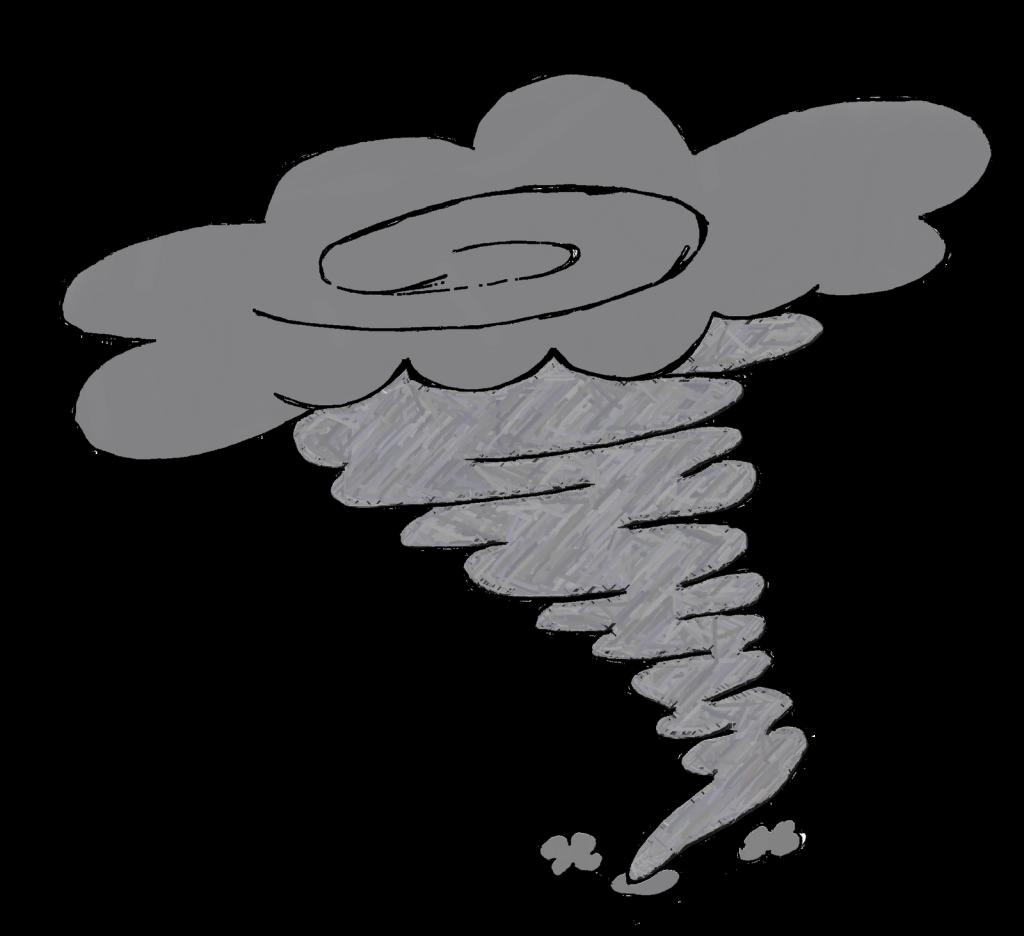 Tornado clip art 4