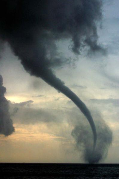 Tornado clip art at vector image