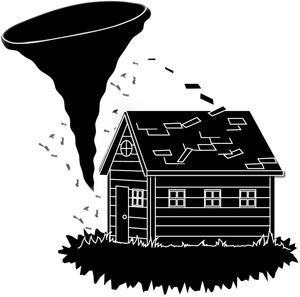 Tornado clip art clipart image