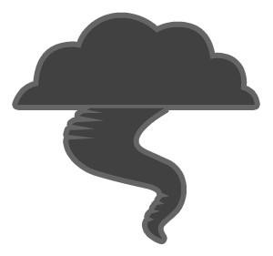 Tornado free clipart clipart
