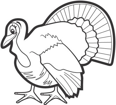 Turkey  black and white november turkey clip art black and white