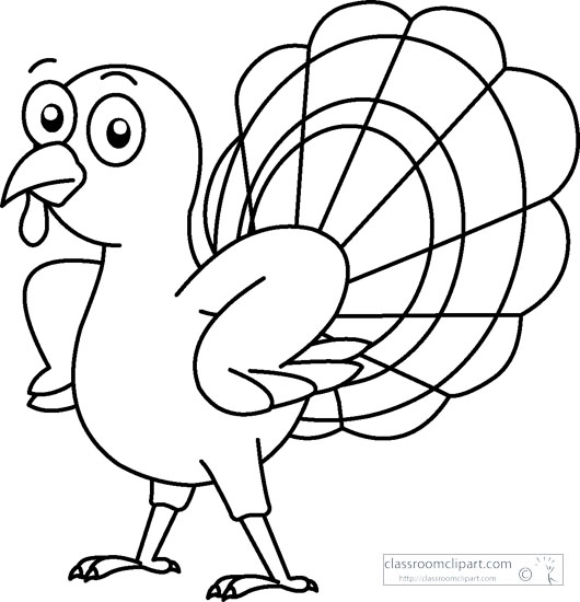 Turkey  black and white thanksgiving turkey clipart black and white 2