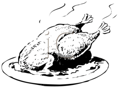 Turkey  black and white turkey clip art black and white
