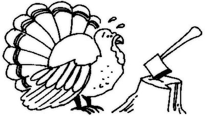 Turkey  black and white turkey clipart black and white 9 6