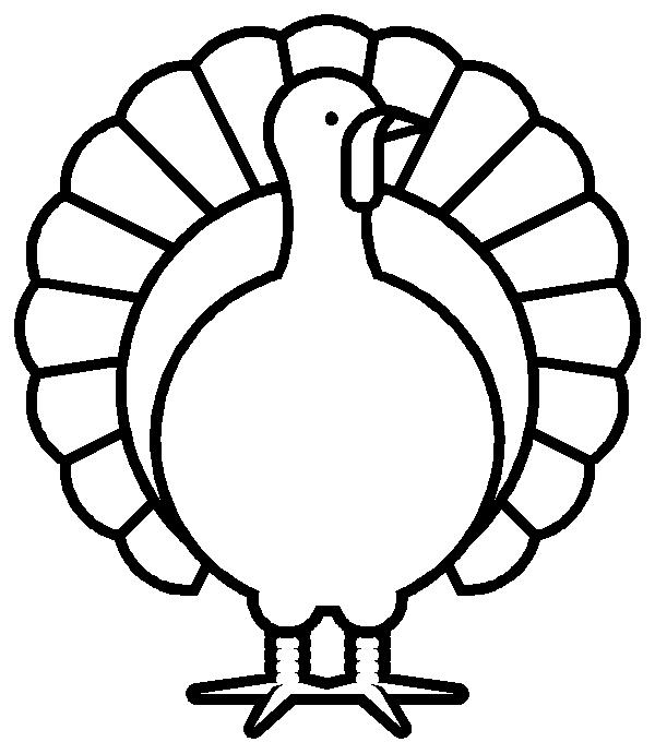 Turkey  black and white turkey clipart black and white 9