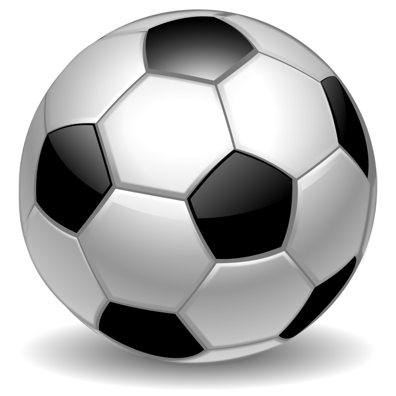 Vector soccer ball clip art free vector for download