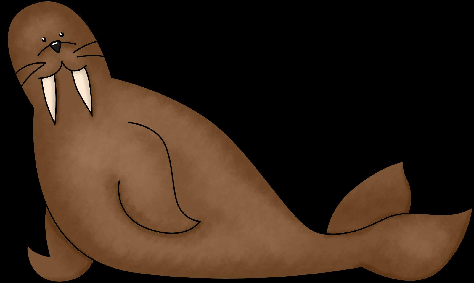 Walrus clip art free clipart images 3