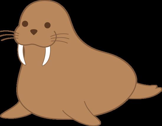 Walrus clipart 2