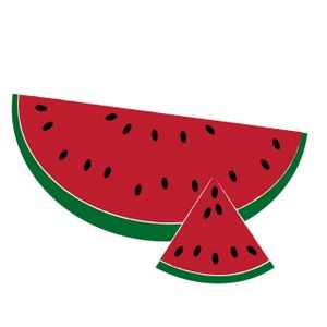 Watermelon clip art 10
