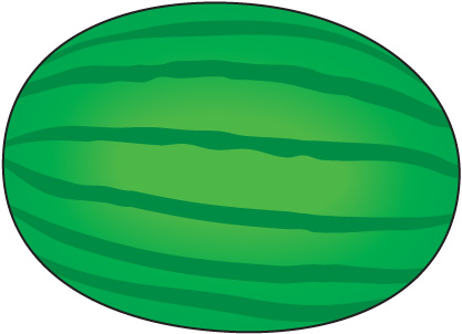 Watermelon clip art 6