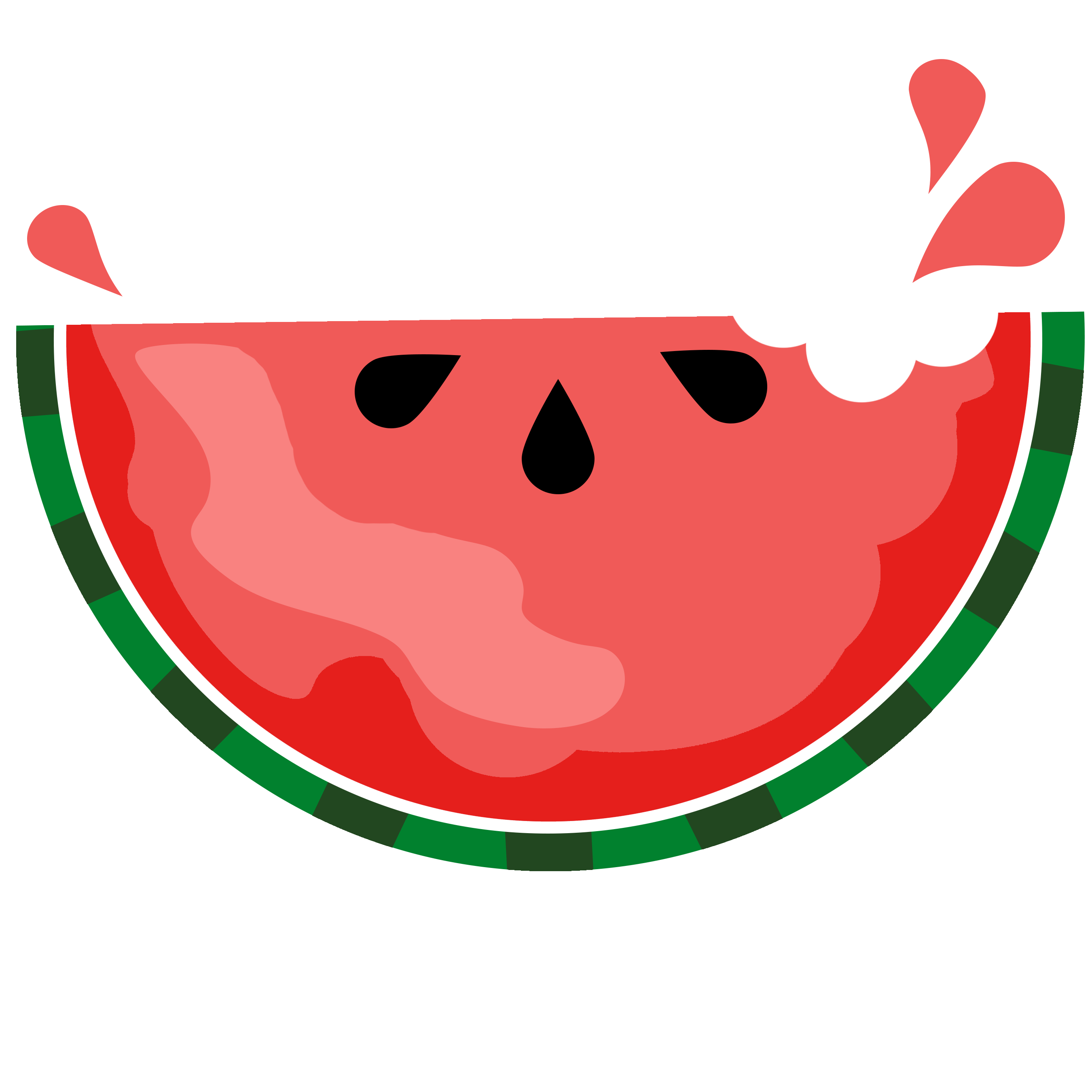 Watermelon clip art 7