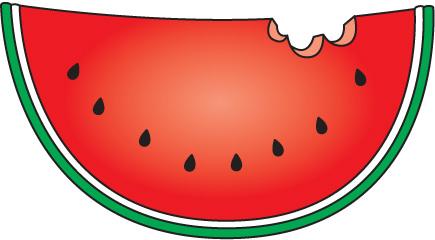Watermelon clip art border free clipart images 2