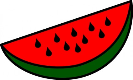 Watermelon clip art border free clipart images 3