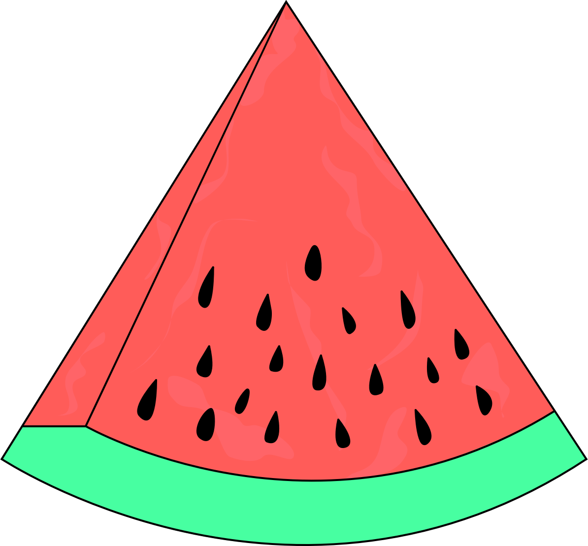 Watermelon clip art fruit 2