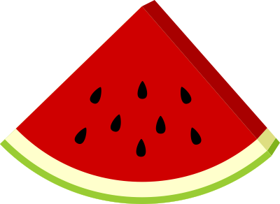 Watermelon clipart 2
