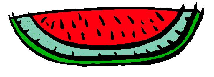 Watermelon clipart 5
