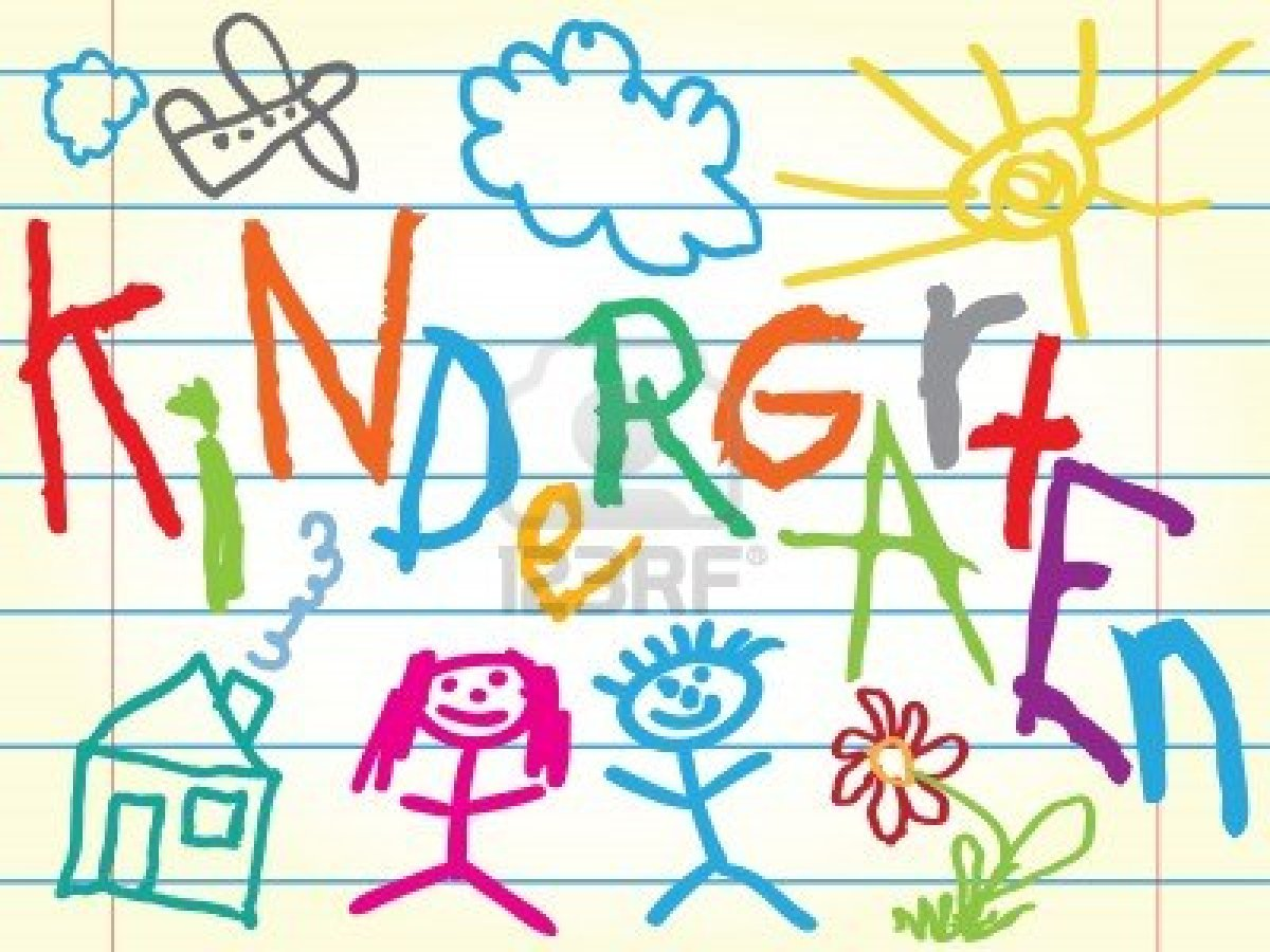 Welcome to kindergarten clipart