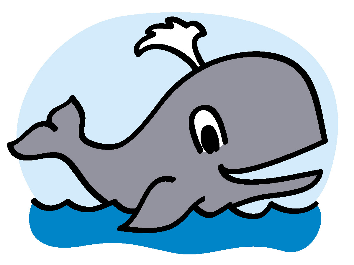 Whale clip art cartoon free clipart images 2