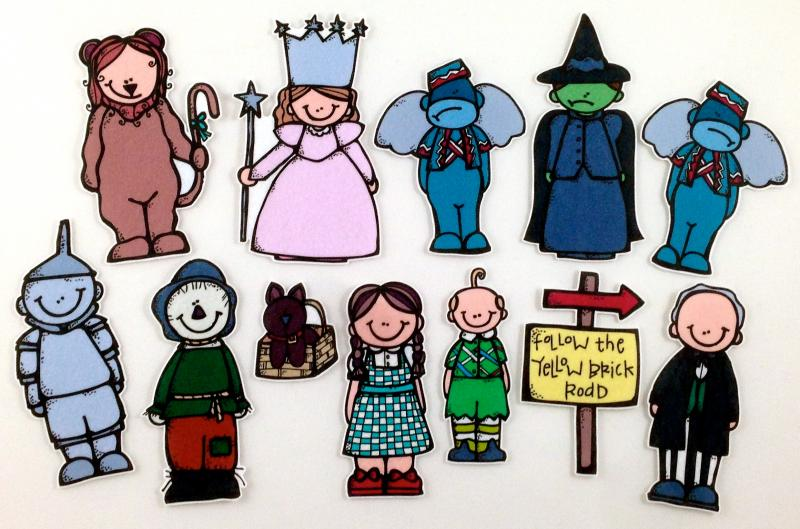 Wizard of oz munchkin clipart
