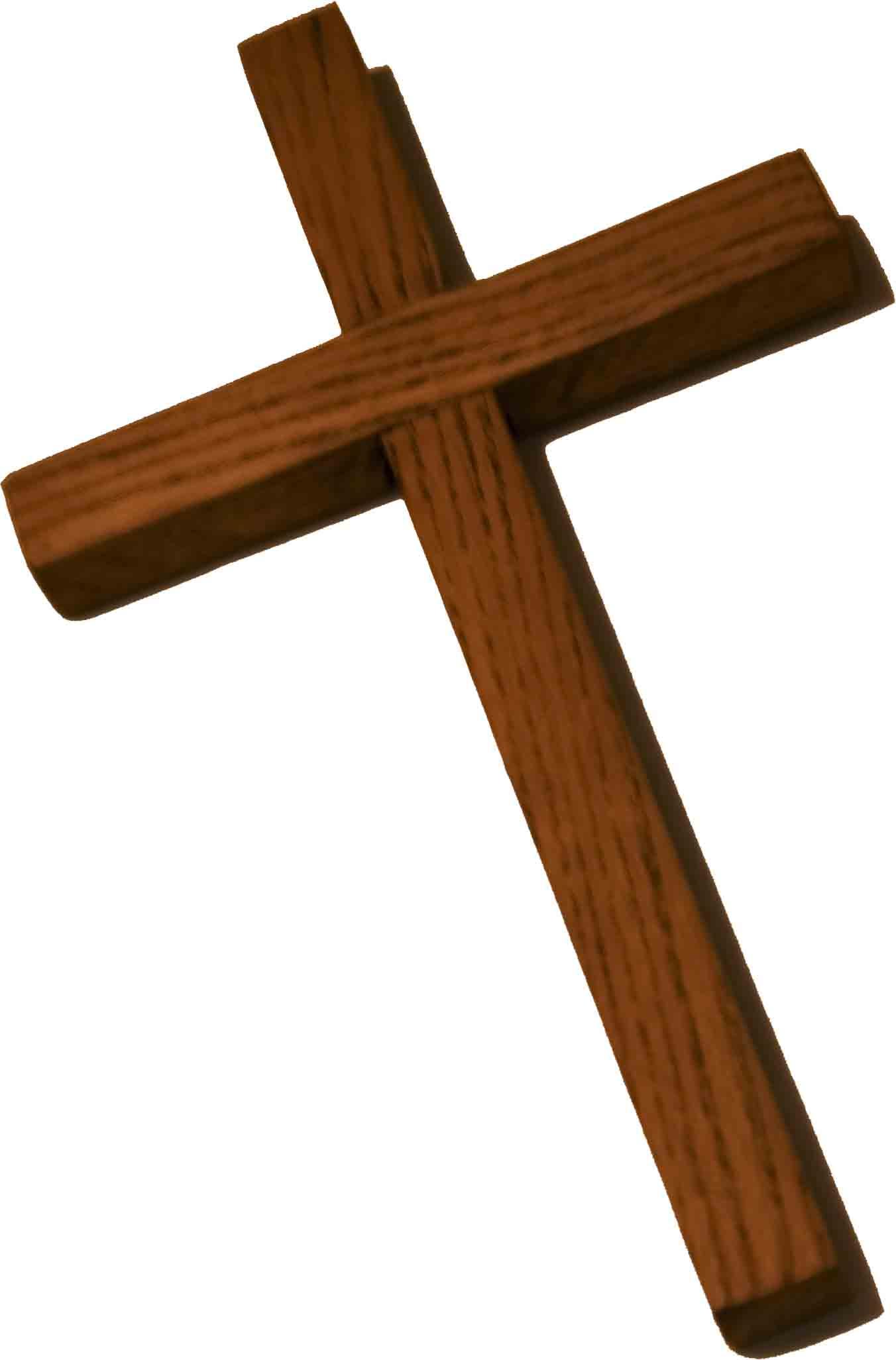 Wooden cross clipart 3