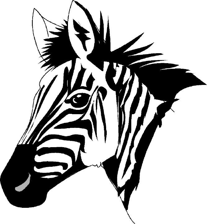 Zebra clip art free clipart images 6