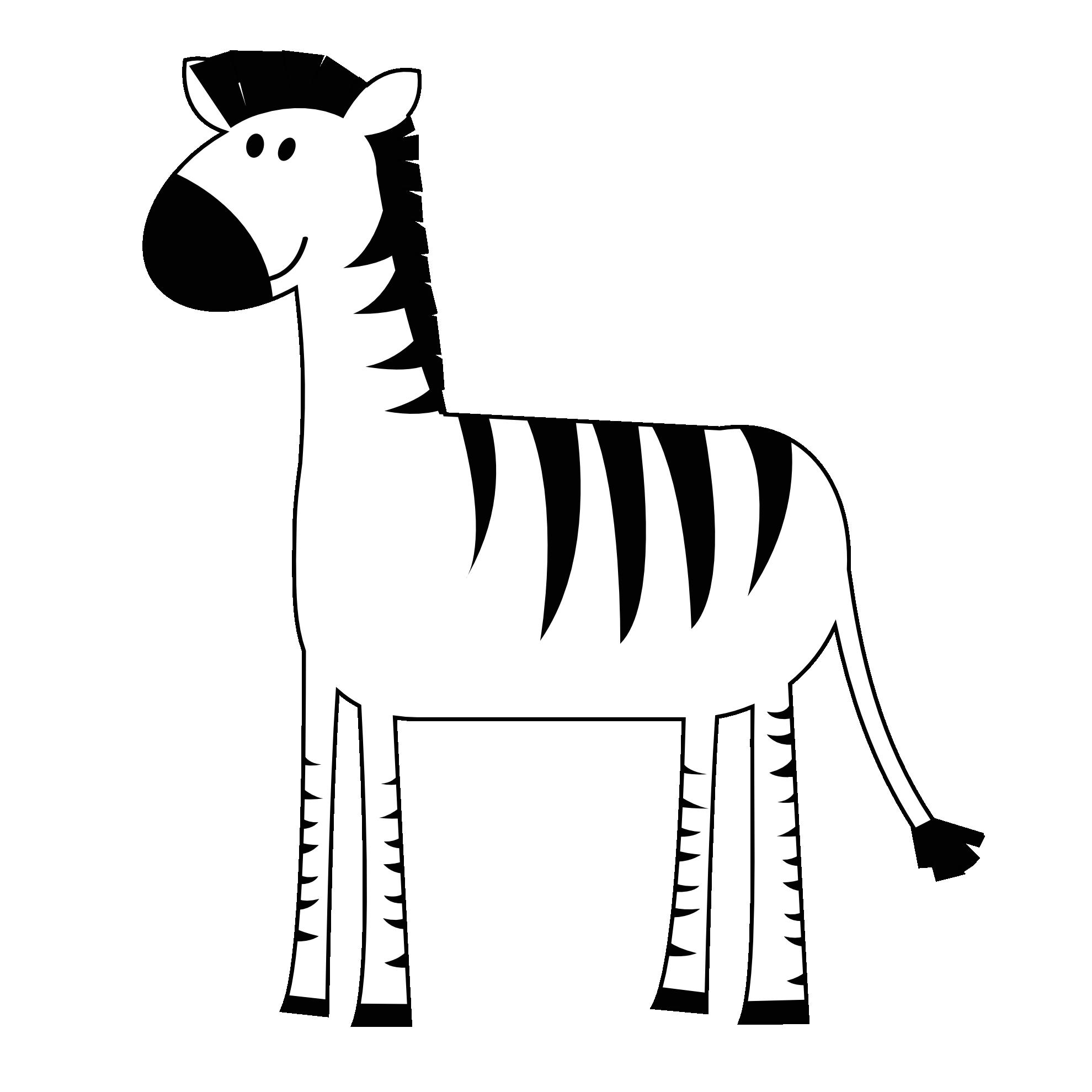 Zebra clipart animals clip art 3