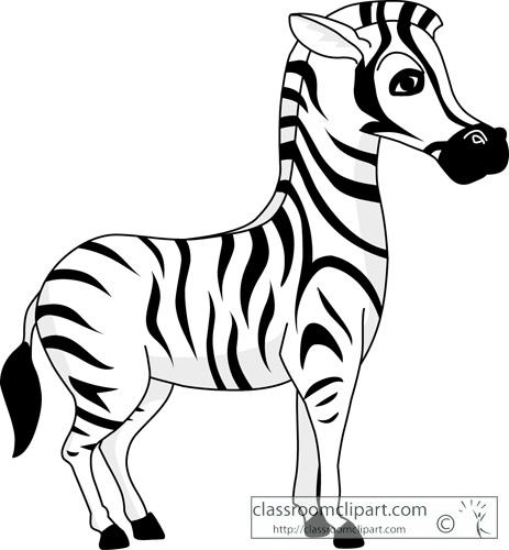 Zebra clipart bay
