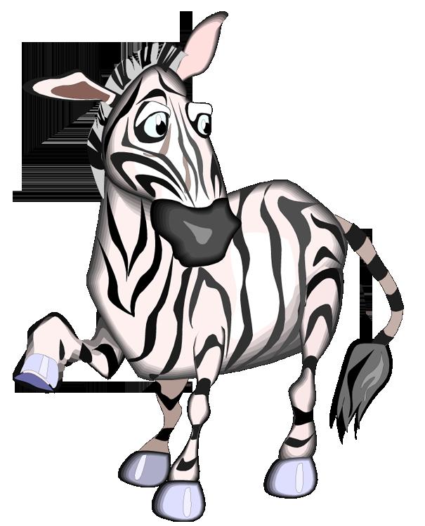 Zebra clipart free image 2
