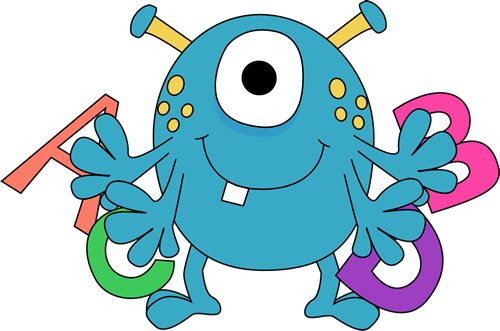 0 images about clip art monsters on art 2