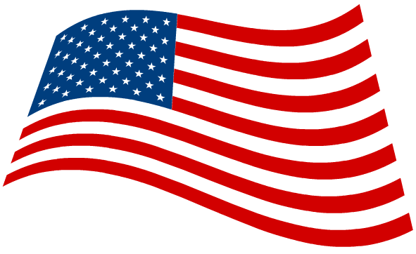 American flag banner clipart free images 2
