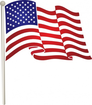 American flag clip art to download