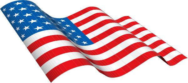 American flag usa clip art free vector for download