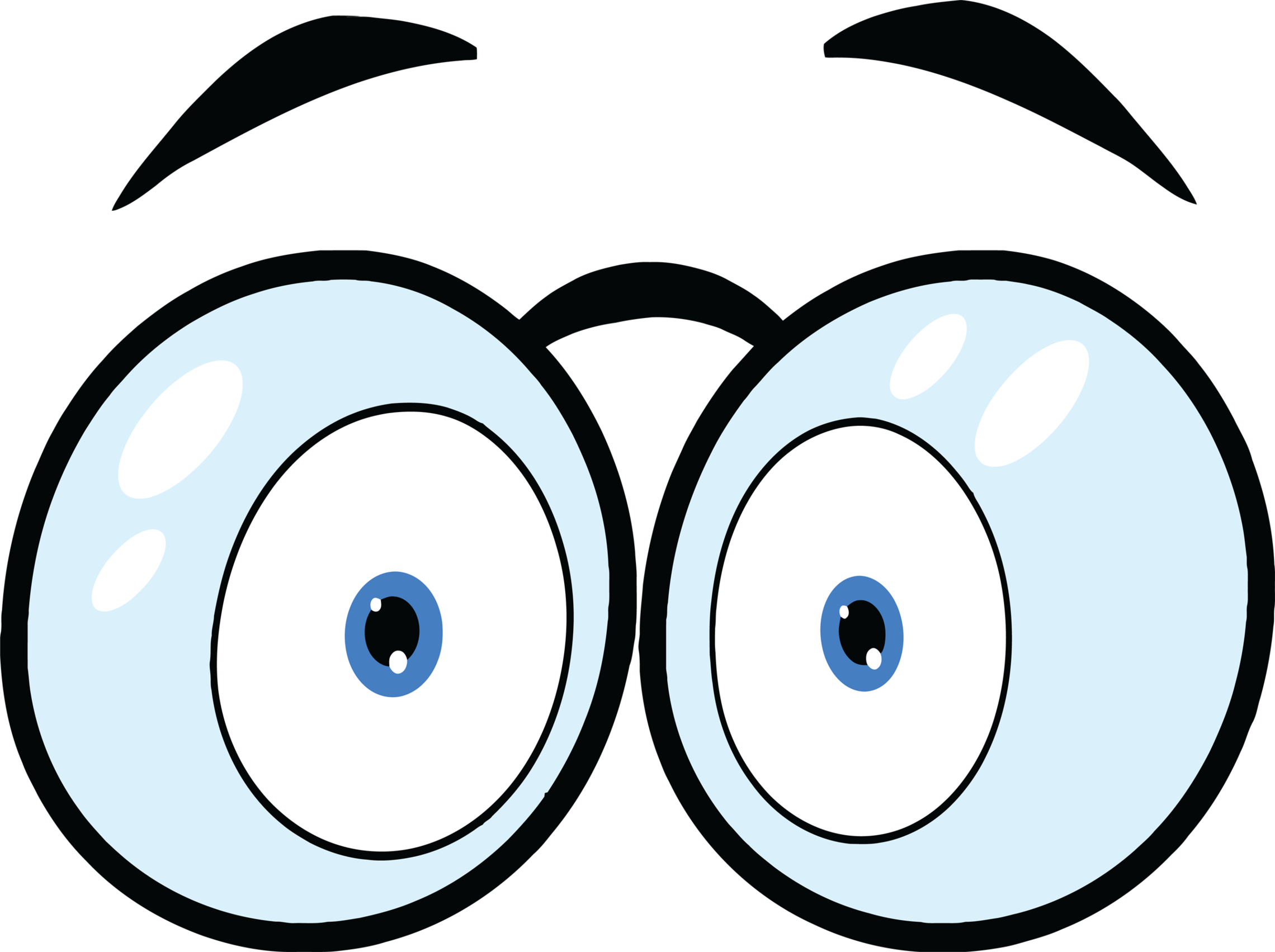 Animated eyes clip art clipart free to use resource