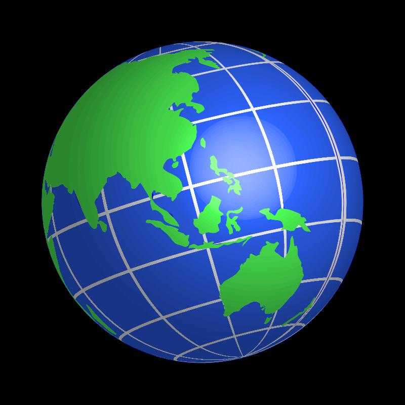 Animated globe clip art 3