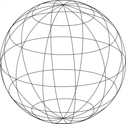 Animated globe clip art 6